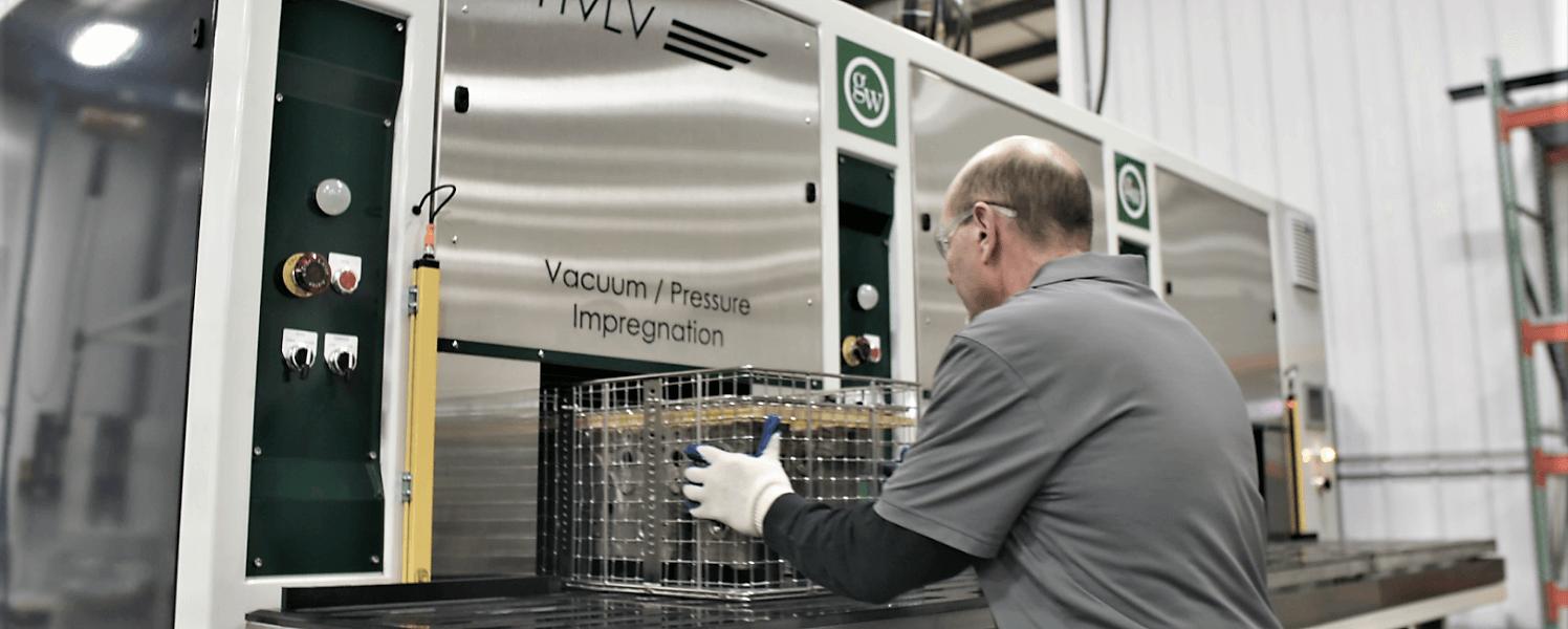 Vacuum Impregnation Equipment  Throughput