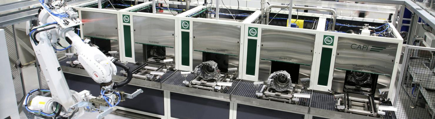 Continuous Advanced Powertrain Impregnation System