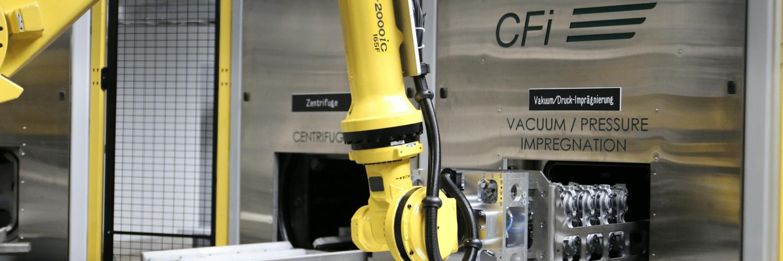 vacuum impregnation equipment